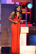 January 12, 2013- Washington, D.C- Actress Gabrielle Union hosts at the 2013 BET Honors held at the Warner Theater on January 12, 2013 in Washington, DC. BET Honors is a night celebrating distinguished African Americans performing at exceptional levels in the areas of music, literature, entertainment, media service and education. (Terrence Jennings)