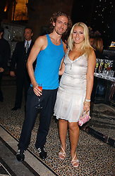 CHRISTIAN HELLAND and BEVERLEY BLOOM at the opening party for Diamonds - a new exhibition at The Natural History Museum, London in association with De Beers held on 6th July 2005.<br />