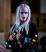 Catwalk of Dutch designer Baz Koster at The Dutch Centre Austin Friars in the City Of London  on  day 2 of London Fashion Week February 15 2014.<br /> <br /> <br /> Photo by Ki Price