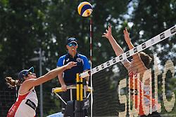 09-06-2016 DUI: Smart Major Beach Volleyball World Tour, Hamburg<br /> Christiaan Varenhorst #2, Mariusz Prudel #1<br /> <br /> ***NETHERLANDS ONLY***