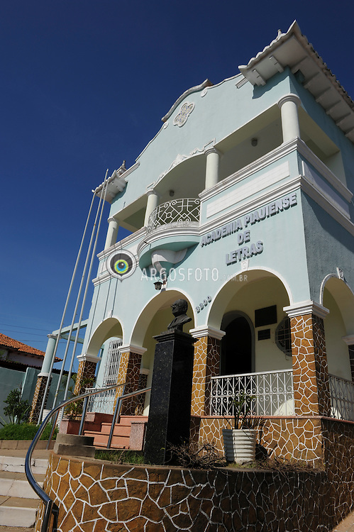 Sede da Academia Piauiense de Letras em Teresina, Piaui. /  Academy of Letters headquarters in Teresina, Piaui, Brazil.