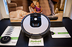 Press conference and presentation of new home robots for cleaning iRobot, on November 10, 2016 in Hotel Vander, Ljubljana, Slovenia. Photo by Vid Ponikvar / Sportida