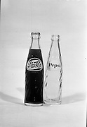 22-23/06/1965<br /> 06/22-23/1965<br /> 22-23 June 1965<br /> Winning packages for the Irish Packaging Institute. Pepsi - Cola and Pepsi bottles.