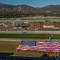 Scenes from Santa Anita Park during the 30th running of the Breeders' Cup at the historic track in Arcadia, California on November 2, 2013.