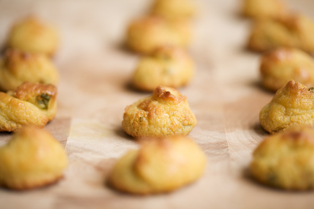 Savory Herbed Cheese Puffs