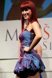 Ursa Klavs during event Miss Sports of Slovenia 2012, on April 21, 2012, in Festivalna dvorana, Ljubljana, Slovenia. (Photo by Urban Urbanc / Sportida.com)