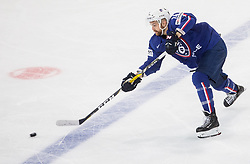 Stephane da Costa of France during the 2017 IIHF Men's World Championship group B Ice hockey match between National Teams of France and Belarus, on May 12, 2017 in AccorHotels Arena in Paris, France. Photo by Vid Ponikvar / Sportida