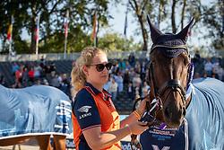 Hosmar Frank, NED, Alphaville NOP<br /> European Championship Para Dressage<br /> Rotterdam 2019<br /> © Hippo Foto - Dirk Caremans