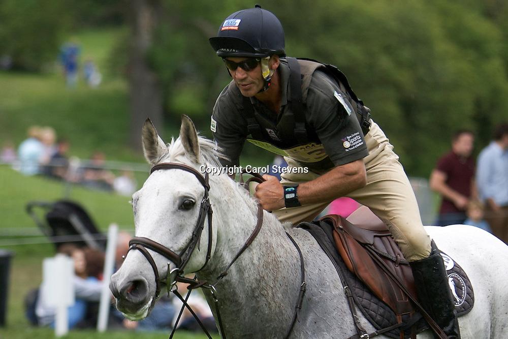 Equi-Trek Bramham International Horse Trials 2012  CIC3*<br /> Andrew Nicholson and Avebury (NZL)