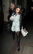 08.NOVEMBER.2010. LONDON<br /> <br /> VANESSA WHITE ARRIVING BACK AT THE MAYFAIR HOTEL AFTER ATTENDING THE PRIDE OF BRITAIN AWARDS AT THE GROSVENOR HOUSE HOTEL, BEFORE GETTING CHANGED AND THEN LEAVING THE MAYFAIR HOTEL.<br /> <br /> BYLINE: EDBIMAGEARCHIVE.COM<br /> <br /> *THIS IMAGE IS STRICTLY FOR UK NEWSPAPERS AND MAGAZINES ONLY*<br /> *FOR WORLD WIDE SALES AND WEB USE PLEASE CONTACT EDBIMAGEARCHIVE - 0208 954 5968*