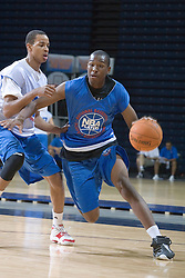 2G Elston Turner (Roseville, CA / Roseville).  The National Basketball Players Association held a camp for the Top 100 high school basketball prospects at the John Paul Jones Arena at the University of Virginia in Charlottesville, VA from June 20, 2007 through June 23, 2007.