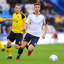 TELFORD COPYRIGHT MIKE SHERIDAN 13/10/2018 - John McAtee of AFC Telford during the Vanarama National League North fixture between AFC Telford United and Chorley