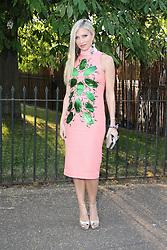 © London News Pictures. 26/06/2013. London, UK. Caprice  at  The Serpentine Gallery summer party, Kensington Gardens London UK, 26 June 2013, Photo credit: Richard Goldschmidt/LNP