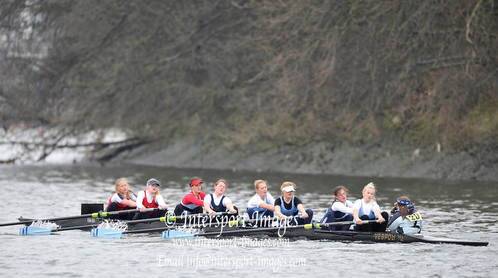 London. Great Britain,  Dame Alice Harpur/St Neots/Star. Penart Winners School/Junior.  2010 Women's Head of the River Race, Raced over the reverse Championship Course, Chiswick to Putney, River Thames, England,  Saturday   13/03/2010 [Mandatory Credit. Peter Spurrier/Intersport Images]