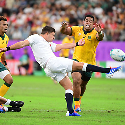 Ben YOUNGS of England during the Rugby World Cup 2019 Quarter Final match between England and Australia on October 19, 2019 in Oita, Japan. (Photo by Dave Winter/Icon Sport) - Ben YOUNGS - Oita Stadium - Oita (Japon)