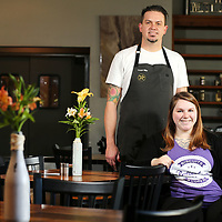 Kristen Ward and Chef Cooper at Forklift
