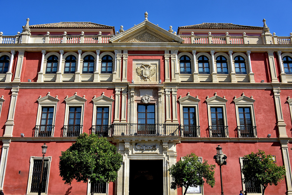 Royal Audiencia Building in Seville, Spain<br />