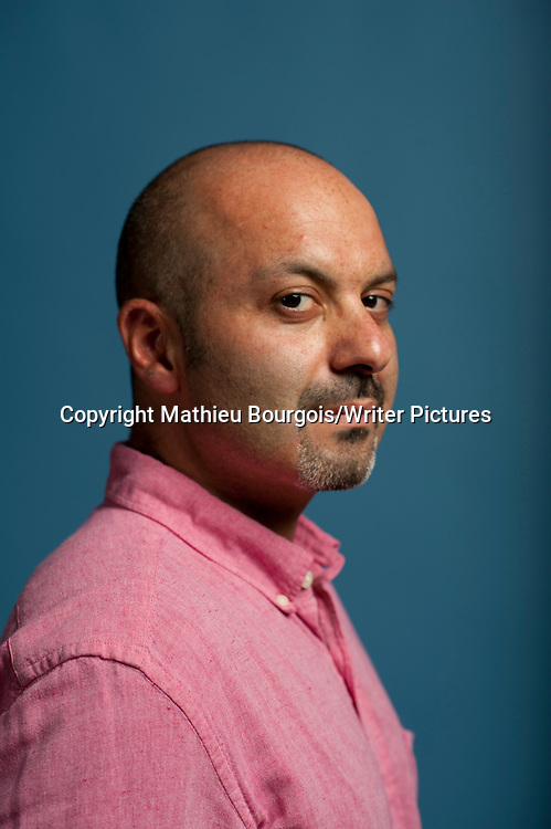 Boris Fishman at Festival America, Vincennes, France<br /> 12th September 2014<br /> <br /> Picture by Mathieu Bourgois/Writer Pictures<br /> <br /> NO FRANCE