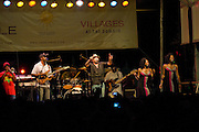 TheWailers perform at Batfest! in Austin Texas, August 22, 2009. The Wailers are a reggae group formed in Kingston, Jamaica in 1963 by Bob Marley and Peter Tosh. The Batfest! is an annual Arts, Crafts, and Music festival at the location of the world's largest urban bat colony.