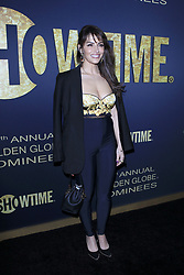 January 5, 2019 - West Hollywood, CA, USA - LOS ANGELES - JAN 5:  Sarah Shahi at the Showtime Golden Globe Nominees Celebration at the Sunset Tower Hotel on January 5, 2019 in West Hollywood, CA (Credit Image: © Kay Blake/ZUMA Wire)