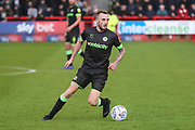 Forest Green Rovers Carl Winchester(7) on the ball during the EFL Sky Bet League 2 match between Crawley Town and Forest Green Rovers at The People's Pension Stadium, Crawley, England on 6 April 2019.