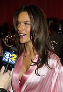 Nov. 10, 2015 - New York City, NY, USA -<br /> <br /> Model Alessandra Ambrosio backstage prior to the 2015 Victoria's Secret Runway Show on November 10 2015 in New York City. The show will broadcast on December 8 2015 on CBS <br /> ©Exclusivepix Media