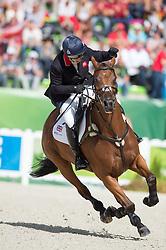 Zara Philips, (GBR), High Kingdom - Jumping Eventing - Alltech FEI World Equestrian Games™ 2014 - Normandy, France.<br /> © Hippo Foto Team - Jon Stroud<br /> 31-08-14