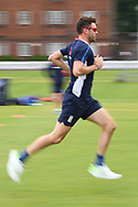 James Anderson of England pictured during training at Lord's, London ahead of the test match series against Pakistan.<br /> Picture by Simon Dael/Focus Images Ltd 07866 555979<br /> 21/05/2018