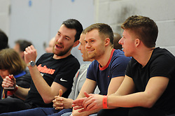 Bristol Flyers fan - Photo mandatory by-line: Dougie Allward/JMP - Mobile: 07966 386802 - 28/03/2015 - SPORT - Basketball - Bristol - SGS Wise Campus - Bristol Flyers v London Lions - British Basketball League