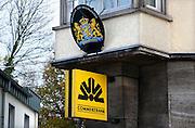 Duitsland, Kleef, 9-11-2008In deze stad vlakbij Nijmegen heeft de commerzbank een filiaal. In de stad is ook een nederlands consulaat.Foto: Flip Franssen/Hollandse Hoogte