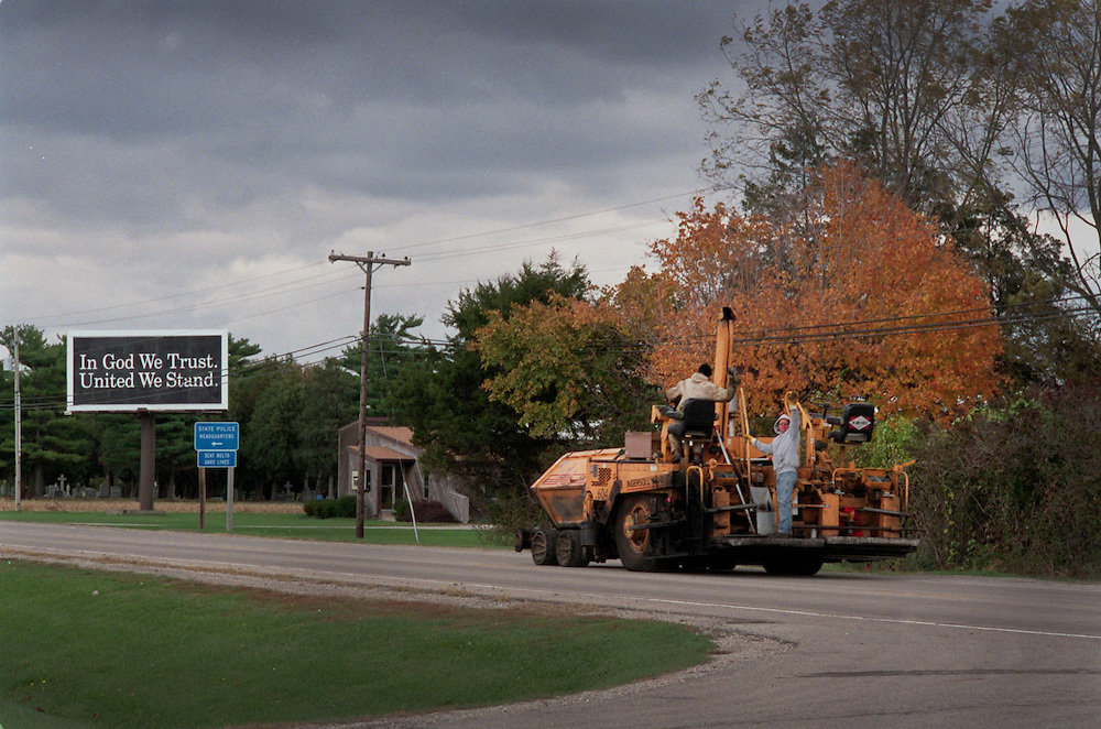 Ten years ago, in the fall of 2003 I spent a week in the 'Heartland' of the USA recording the public reaction to new war in Iraq and Afghanistan.<br />