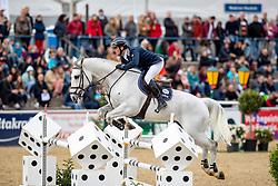 MUFF Werner (SUI), Jazoe van't Steenpaal<br /> Mannheim - Maimarkt Turnier 2019<br /> MAIMARKT-CHAMPIONAT VON MANNHEIM <br /> Int. Springprüfung mit Stechen (1.55 m) <br /> 05. Mai 2019<br /> © www.sportfotos-lafrentz.de/Stefan Lafrentz