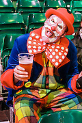 Dart fan in fancy dress during the World Darts Championship at Alexandra Palace, London, United Kingdom on 27 December 2015. Photo by Shane Healey.