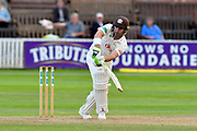 Dean Elgar of Surrey batting during the opening day of the Specsavers County Champ Div 1 match between Somerset County Cricket Club and Surrey County Cricket Club at the Cooper Associates County Ground, Taunton, United Kingdom on 18 September 2018.