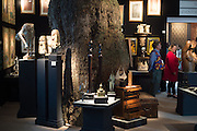 The preview of LAPADA Art and Antiques Fair. Berkeley Sq. London. 21 September 2015.