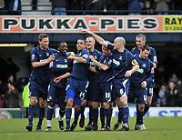 Photo: Tony Oudot/Richard Lane Photography. <br /> Southend United v Swansea City. Coca-Cola League One. 21/03/2008. <br /> Hal Robson-Kanu celebrates his goal for Southend