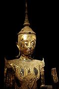 Buddha. 18th century bronze from Ayutthaya, Thailand
