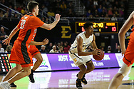 January 24, 2018 - Johnson City, Tennessee - Freedom Hall: ETSU guard Jason Williams (4)<br />