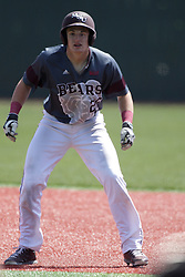 26 April 2015:  Tate Matheny during an NCAA Division I Baseball game between the Missouri State Bears and the Illinois State Redbirds in Duffy Bass Field, Normal IL