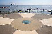 Euroscope at Britain's most easterly point, Lowestoft, Suffolk, England