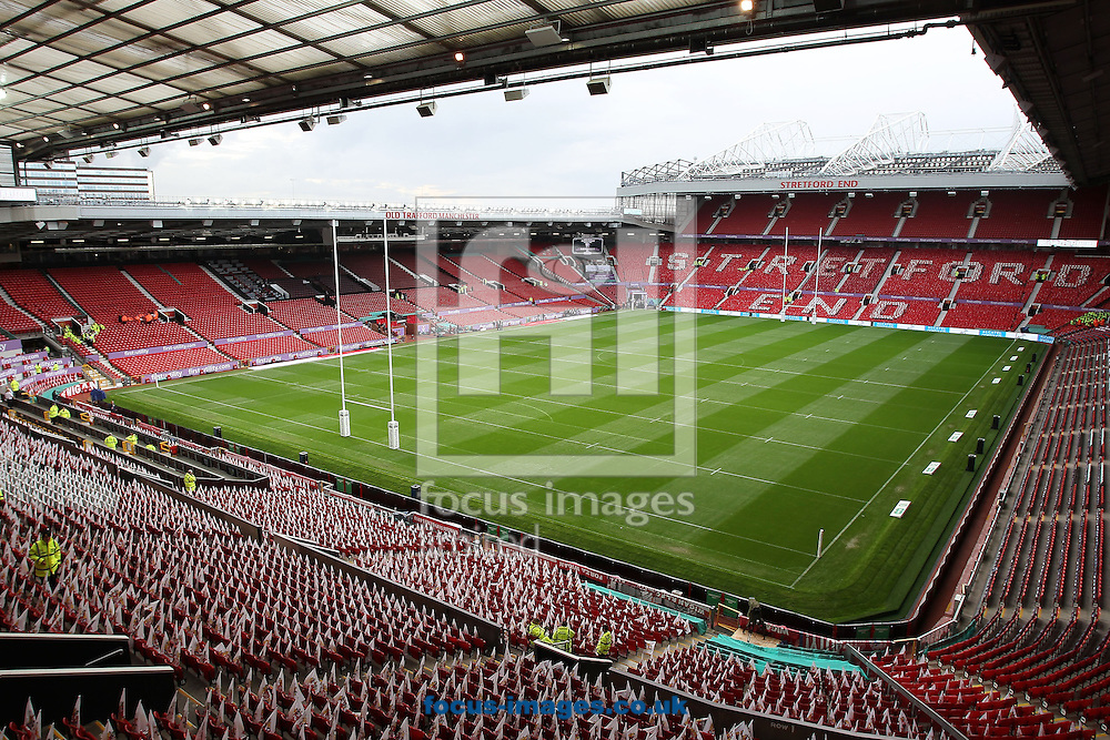 General view of Old Trafford, before the the First Utility Super League Grand Final, Manchester.<br /> Picture by Michael Sedgwick/Focus Images Ltd +44 7900 363072<br /> 11/10/2014