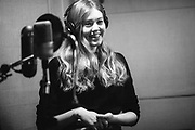 """First Aid Kit recording """"Ruins"""" with Tucker Martine at Flora Recording & Playback in Portland, OR, Jan-Feb 2017. Photo by Jason Quigley"""