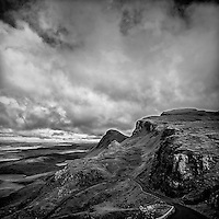 Mountains in the Isle of Skye