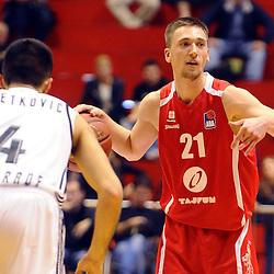 20151120: SRB, Basketball - ABA League 2015/16, KK Partizan vs KK Tajfun