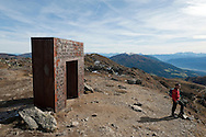 The so-called 'Garnet Gate' on Granattor. Millstätter Alpe, Nockberge mountains. Alpe Adria Trail, Carinthia, Austria (October 2015) © Rudolf Abraham