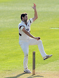 Somerset's Tim Groenewald - Photo mandatory by-line: Harry Trump/JMP - Mobile: 07966 386802 - 07/04/15 - SPORT - CRICKET - Pre Season - Somerset v Lancashire - Day 1 - The County Ground, Taunton, England.