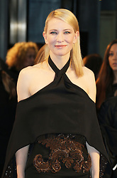 © Licensed to London News Pictures. 17/09/2013, UK. Cate Blanchett, Blue Jasmine UK film premiere, Odeon West End cinema Leicester Square, London UK, 17 September 2013, Photo credit : Richard Goldschmidt/Piqtured/LNP