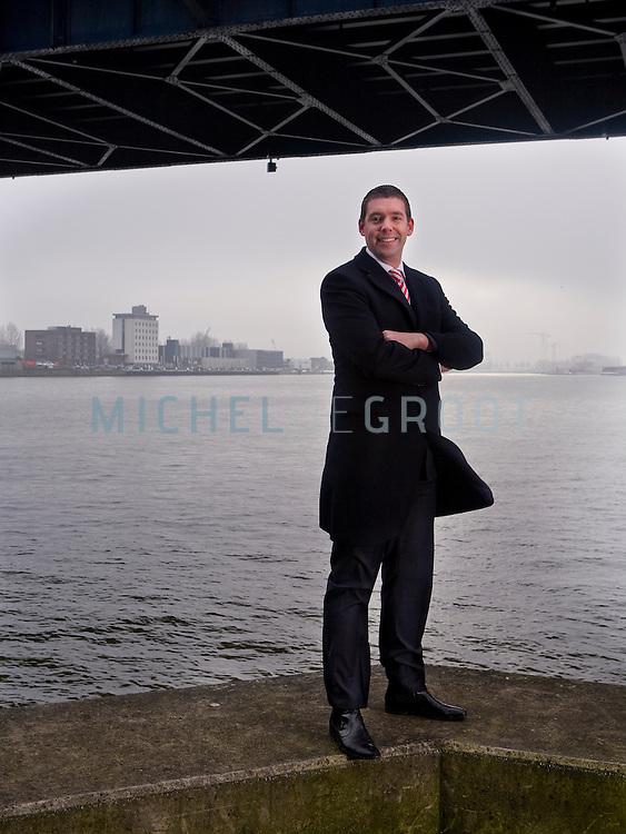 Stefan Meeusen, directeur van NPRC in Zwijndrecht