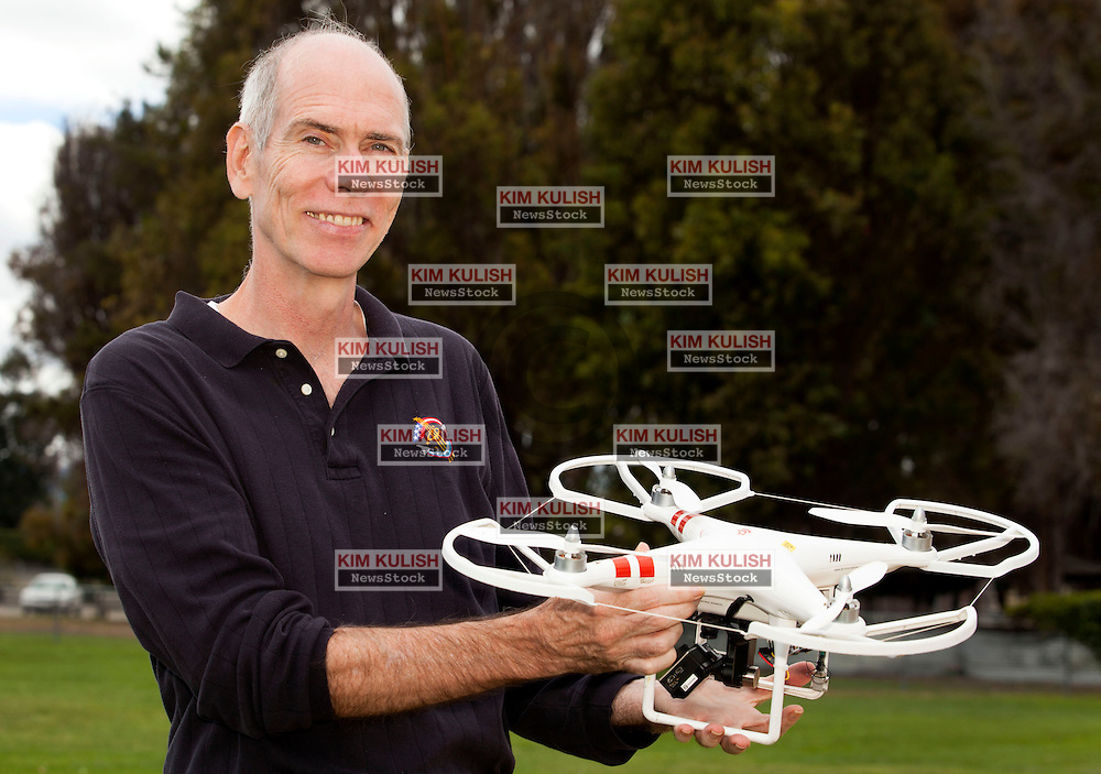 Singularity University in Silicon Valley conducts one of their continuing IPP, Innovation Partnership Program.  Dan Barry<br /> Track Chair, Space and Physical Sciences; Co-Chair Artificial Intelligence and Robotics, with a drone aircraft.