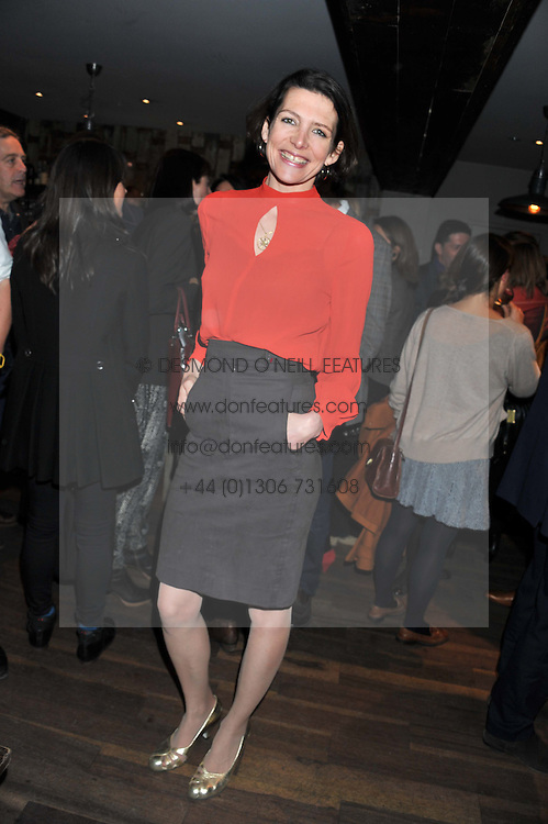 THOMASINA MIERS at a party to celebrate the publication of A History of Food in 100 Recipes by William Sitwell held at Archer street, 3-4 Archer Street, London W1 on 11th April 2012.